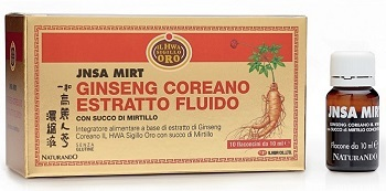 GINSENG JNSA MIRTILLO 10 FIALE 10ML