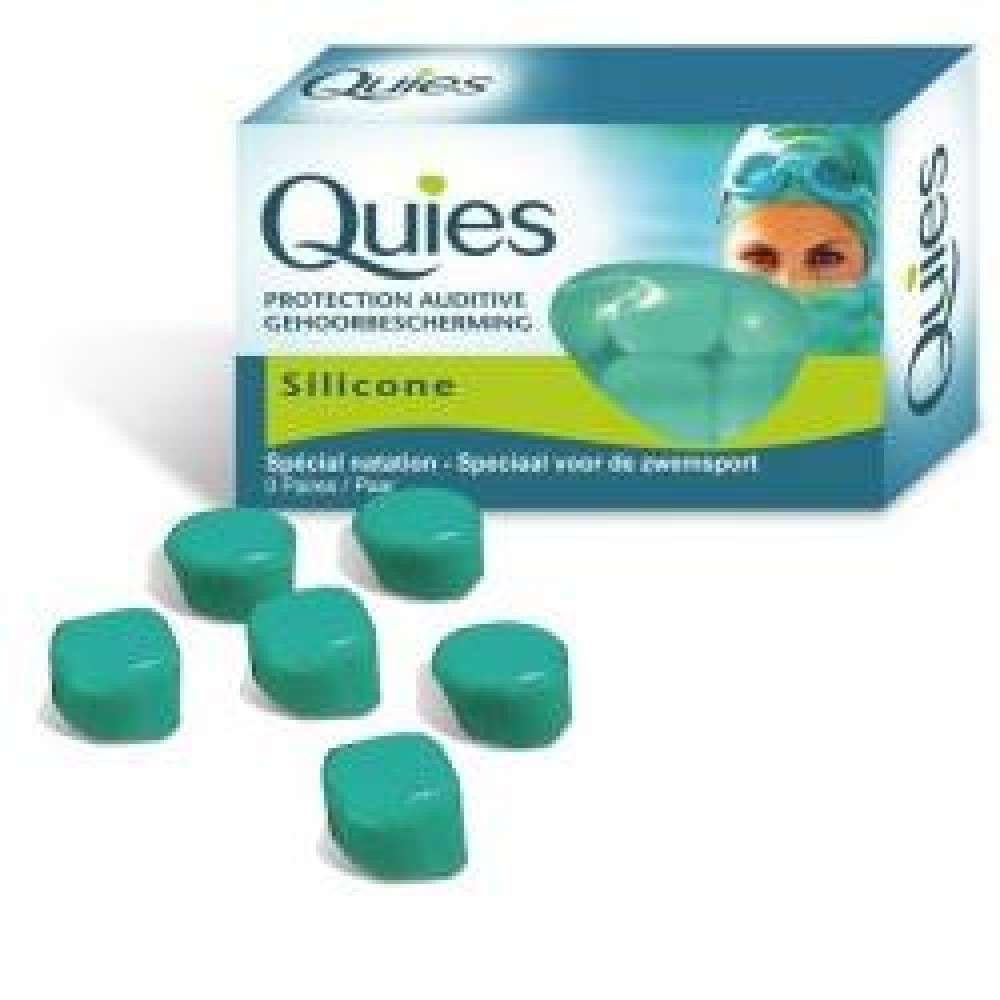 QUIES TAPPO AURIC SILICONE 3PA