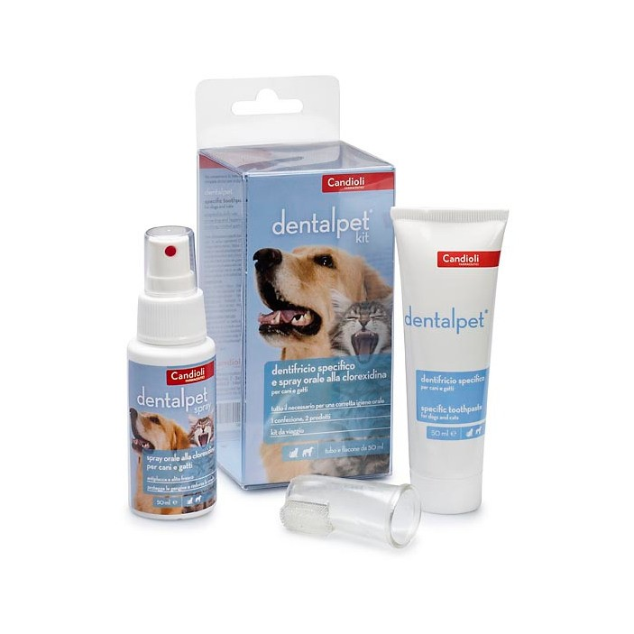 DENTALPET KIT 50ML+SPR50ML+DIT