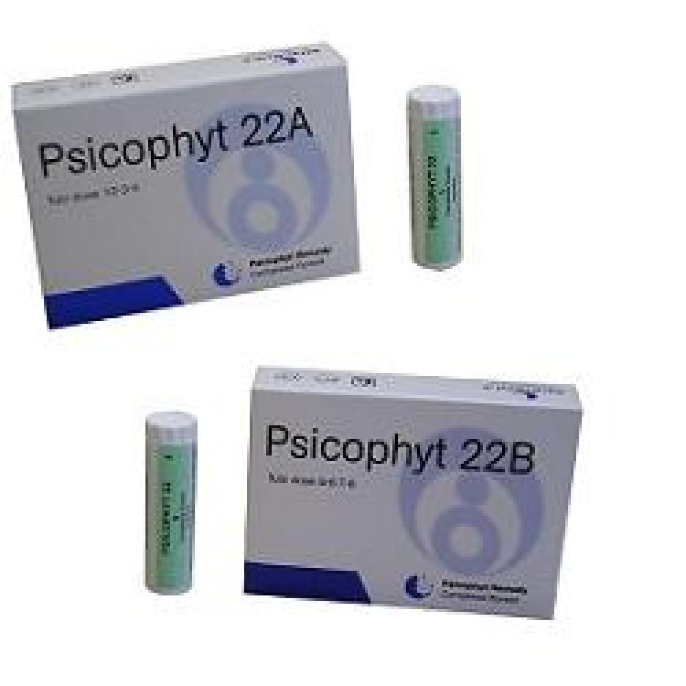PSICOPHYT REMEDY 22B 4TUB 1,2G