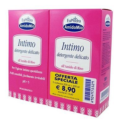 EUPHIDRA SOTTO CUTE INT DETERGENTE 200+200ML