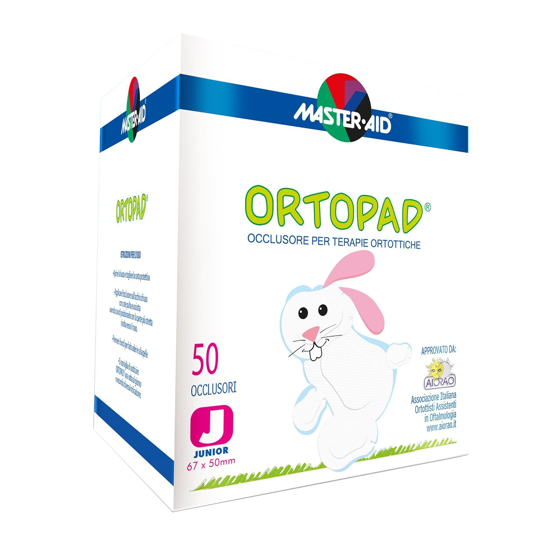 ORTOPAD CEROTTO JUNIOR 50PZ