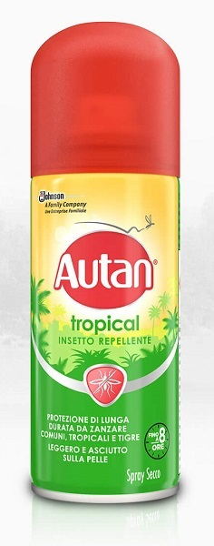 AUTAN TROPICAL SPRAY SECCA 100ML