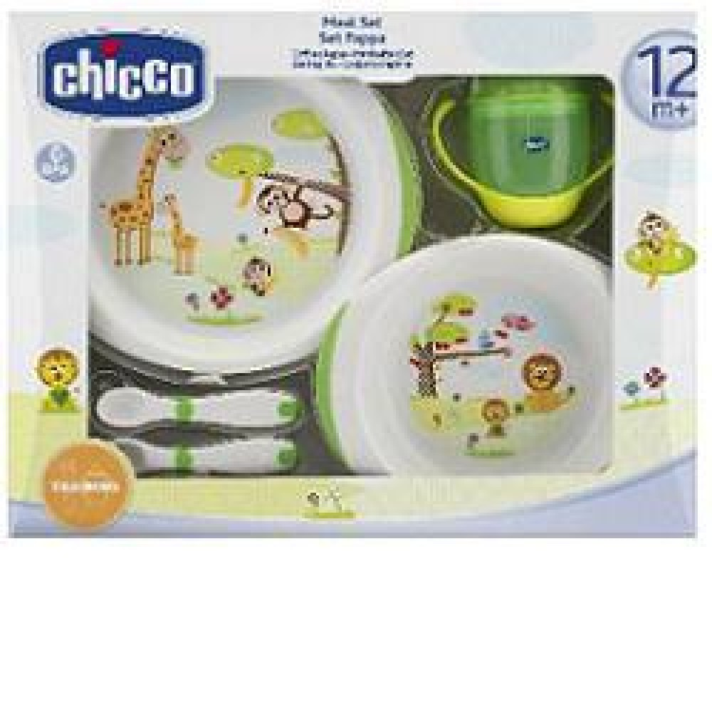 CHICCO SET PAPPA 12M+ VERDE