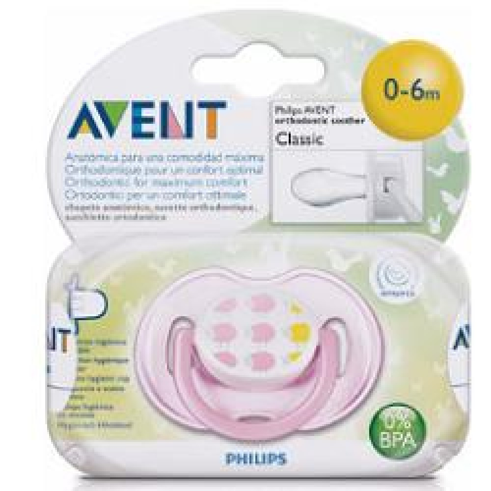 AVENT SUCCHIETTO DECOR F 0-6M