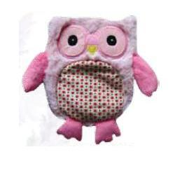 WARMIES PELUC TERM HOOTY ROSA