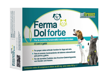 PETFORMANCE FERMA DOL FT 60 COMPRESSE