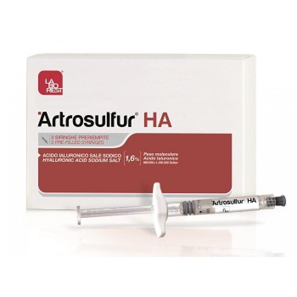 ARTROSULFUR HA SIR 1,6% 2ML3PZ