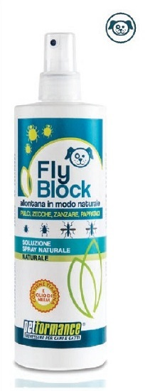 FLYBLOCK LOZIONE ANTIP CANE 400ML