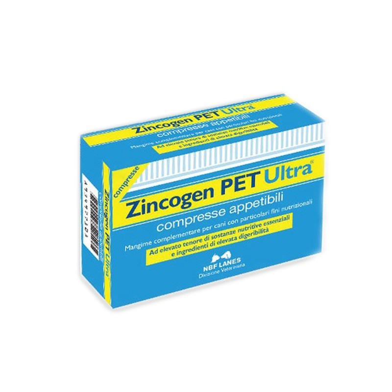 ZINCOGEN PET ULTRA 30 COMPRESSE