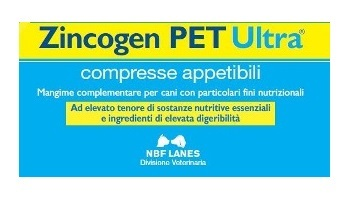 ZINCOGEN PET ULTRA 60 COMPRESSE