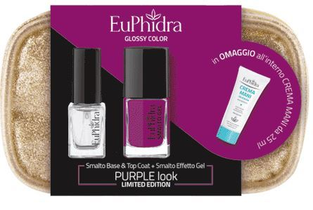 EUPHIDRA GLOSSY PURPLE LOOK