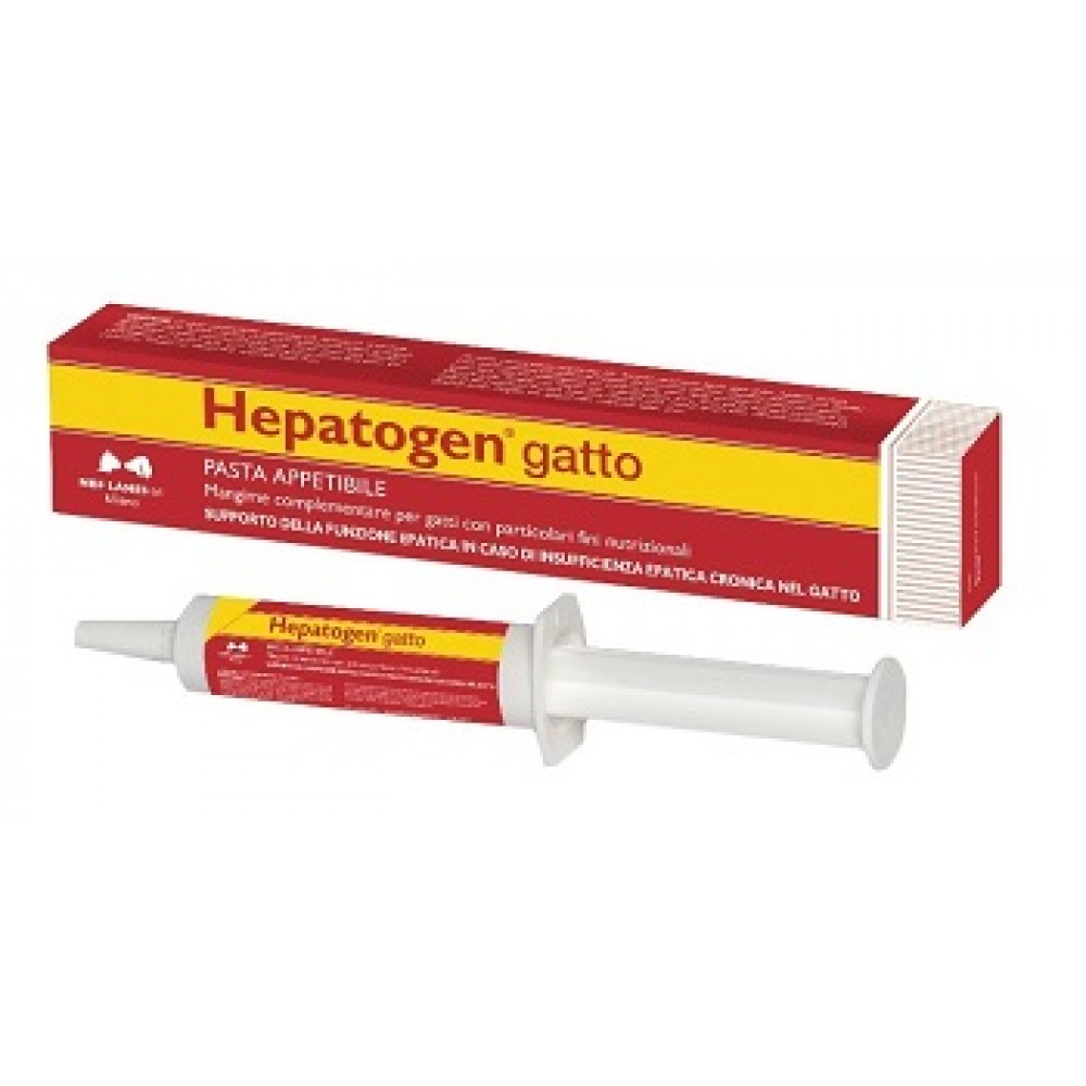 HEPATOGEN GATTO PASTA 30G