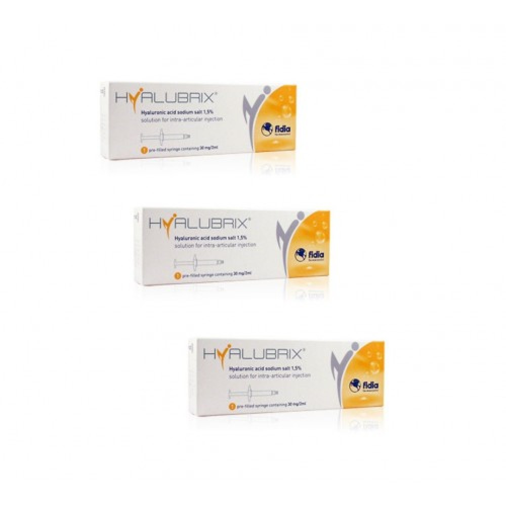 HYALUBRIX SIRINGHE 30MG/2ML 3PZ