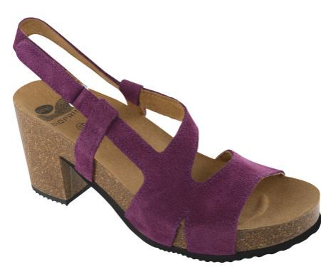ALIANTE SUEDE D PURPLE 38