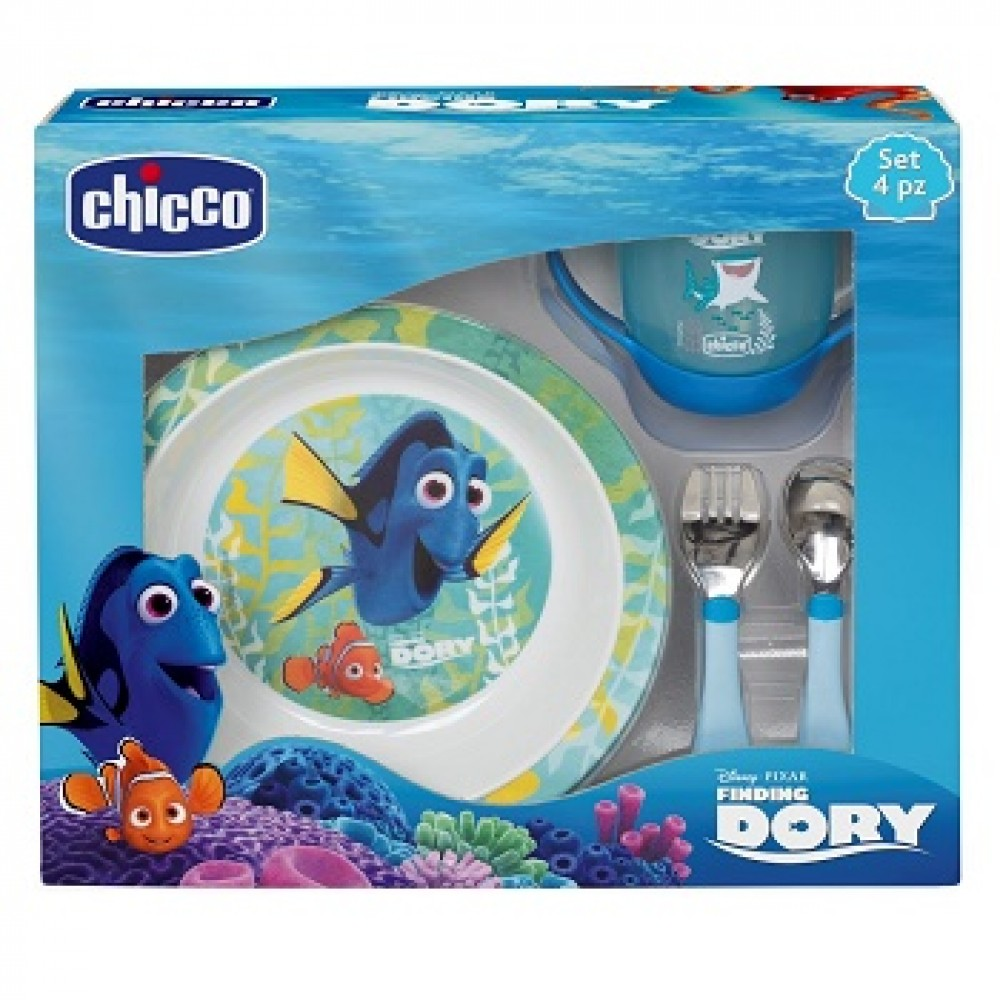 CHICCO SET PAPPA DORY AZZURR 18+