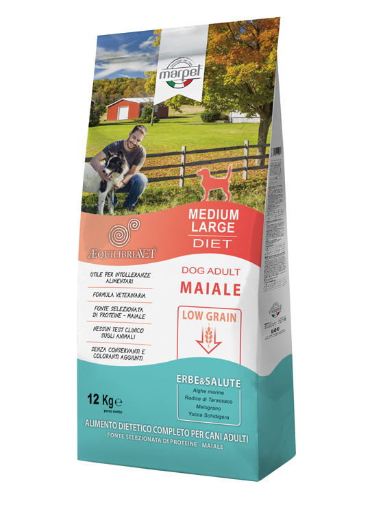 EQUILIBRIA DOG M MAIALE 1,5KG