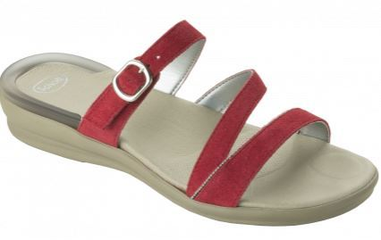 ELINOR SUEDE W RED 37