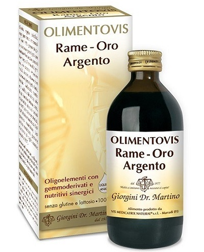 RAME ORO ARGENTO OLIMENT 200ML