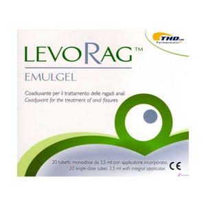 LEVORAG EMULGEL 20TUB 3,5ML
